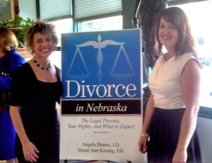 Attorneys Susan Ann Koenig and Angela Dunne